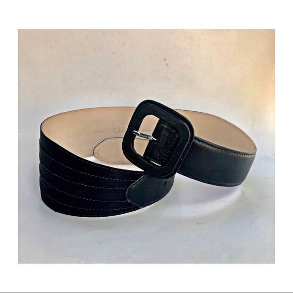 Cole Haan Accessories - Cole Haan Black Leather Belt
